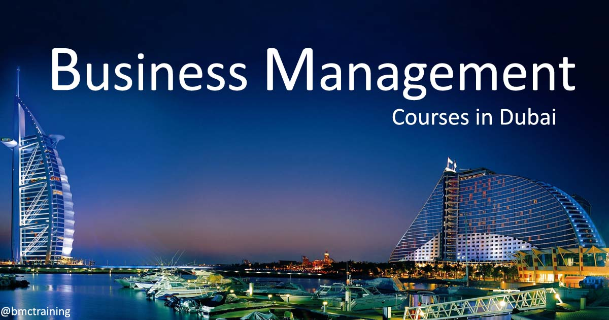 Business Management Courses in Dubai