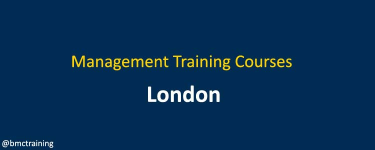 Management Training Courses London